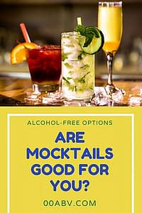 are mocktails good for you?