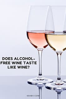 Does non-alcoholic wine taste like real wine?