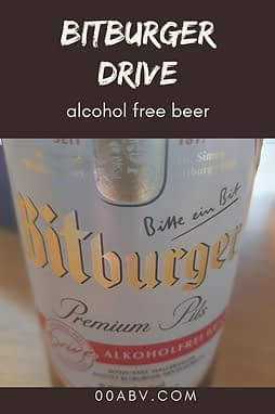 Bitburger Drive Alcohol Free Beer