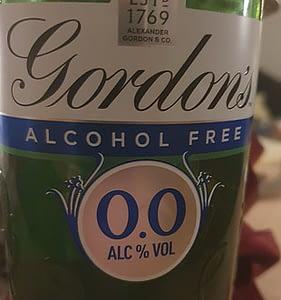 gordons alcohol free gin