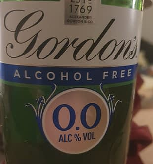 gordons alcohol free gin