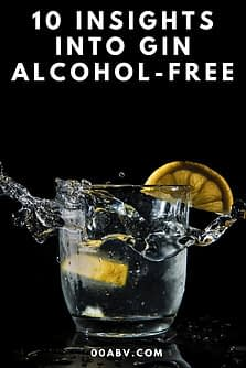 10 insights gin alcohol free