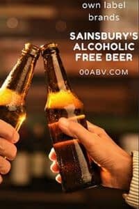 sainsbury's alcohol free beer