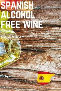 Spanish Alcohol-Free White Wine