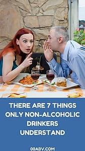 non-alcoholic drinks, non-alcoholic drinkers