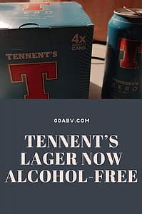 Tennents Lager alcohol-free