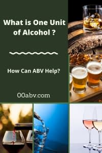 what is one unit of alcohol