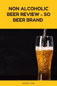 Non Alcoholic Beer Brand Review