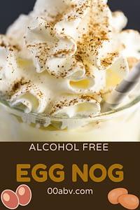 alcohol free eggnog