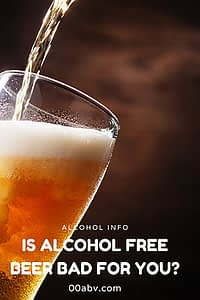 is alcohol free beer bad for you?