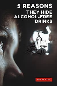why do bars hide alcohol-free drinks?