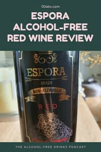 espora alcohol-free red wine review 2021