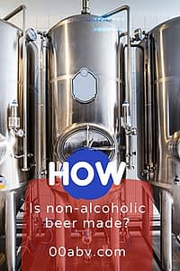 How is a non-alcoholic beer made?
