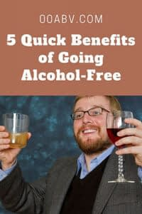 benefits of going alcohol-free