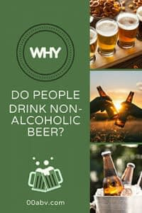 why do people drink non-alcoholic beer?