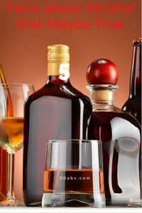 5 facts about alcohol