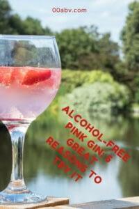 alcohol-free pink gin