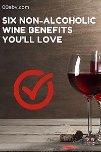 non-alcoholic wine benefits
