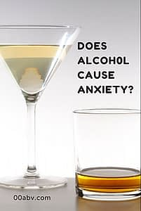 does alcohol cause anxiety?
