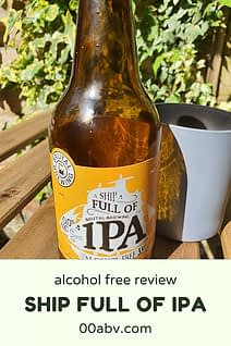 a ship full of ipa alcohol free review