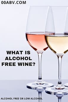 what is alcohol free wine