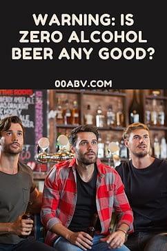 Is zero alcohol beer any good ?