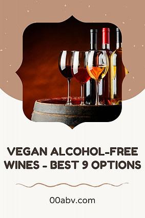 Vegan Non-Alcoholic Wine