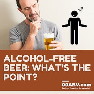 What is the point in alcohol-free beer?