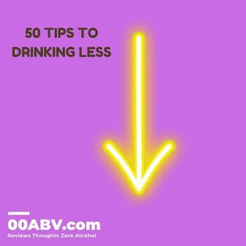 tip to drinking less alcohol