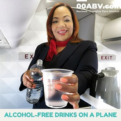Alcohol-Free Drinks on a Plane